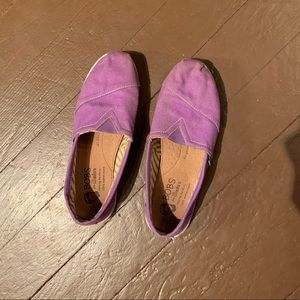 Purple BOBS Slip-On Shoes